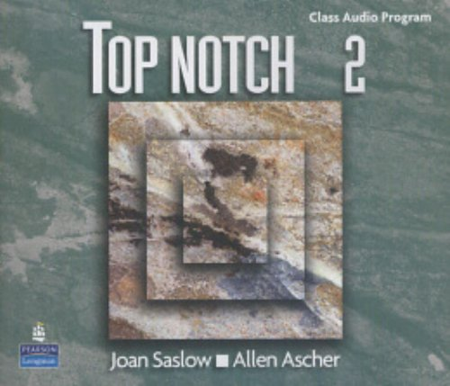 9780131104952: Top Notch 2: Class Audio Program