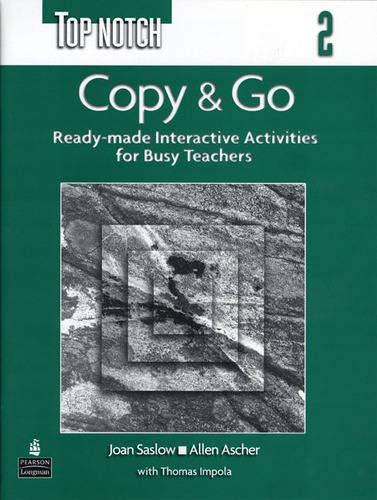 9780131104976: Topnotch 2: Copy & Go