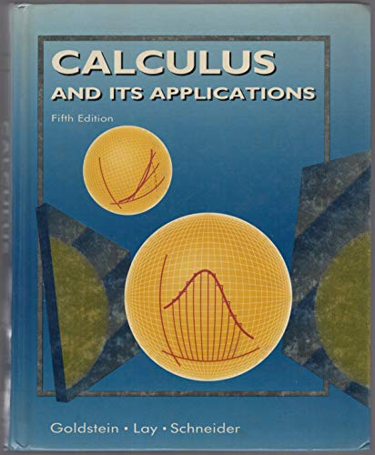 9780131105379: Calculus and Its Applications