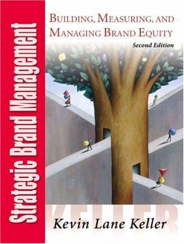 9780131105836: Strategic Brand Management (International Edition)