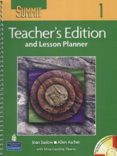 9780131106307: Summit: Teacher's Edition Lesson Plannner Level 1