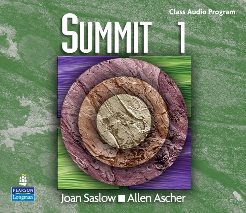 9780131106321: Summit 1 with Super CD-ROM Complete Audio CD Program: Complete Audio CD Program Level 1 (Top Notch)