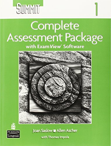 Summit: Complete Assessment Package Level 1: Joan M. Saslow