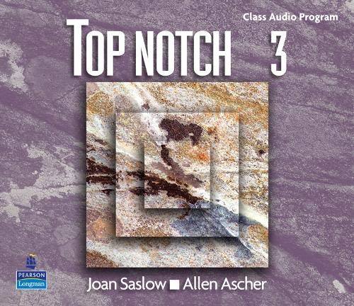 9780131106390: Top Notch 3: Complete Audio CD Program