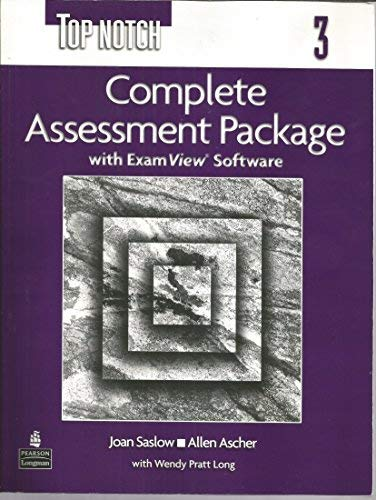 9780131106413: Top Notch, Level 3: Complete Assessment Package