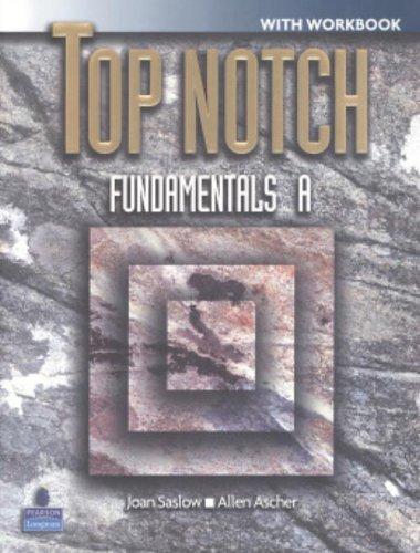 9780131106598: Top Notch Fundamentals Split A with Workbook &CD