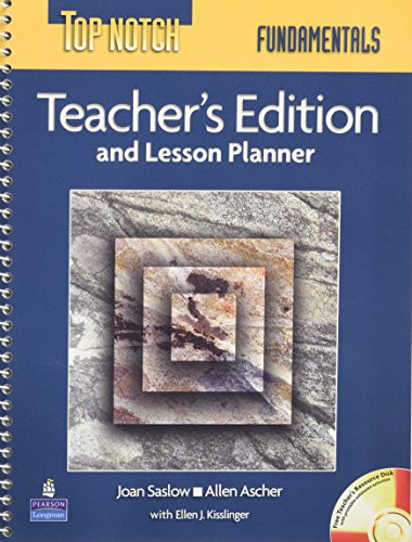 9780131106628: Top Notch Fundamentals with Super CD-ROM and Lesson Planner: Teacher's Edition and Lesson Planner