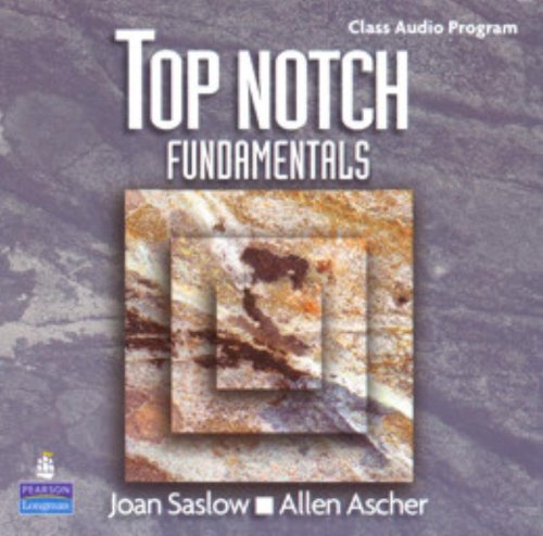 9780131106642: Top Notch Fundamentals with Super CD-ROM Complete Audio CD Program