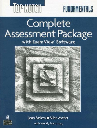 9780131106659: Top Notch Fundamentals Complete Assessment Package [With CD]