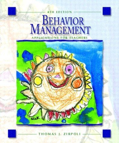 9780131106673: Behavior Management: Applications for Teachers (4th Edition)