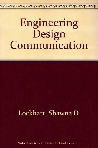 9780131106987: Engineering Design Communication