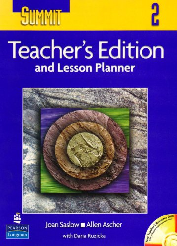 9780131107076: Summit 2: Teacher's Edition and Lesson Planner (Top Notch S.)