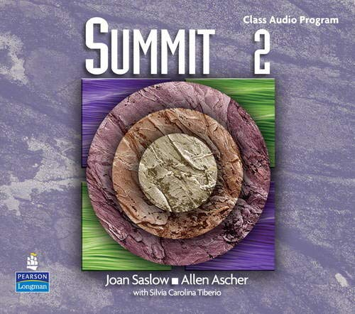 9780131107120: Summit 2 with Super CD-ROM Complete Audio CD Program (Top Notch)