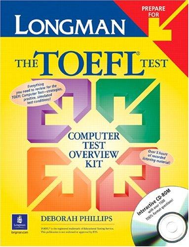 9780131107656: Longman Prepare for the TOEFL Test: Computer Test Overview Kit