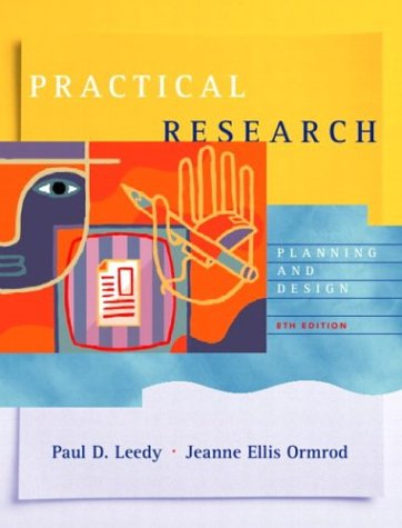9780131108950: Practical Research: Planning and Design (8th Edition)