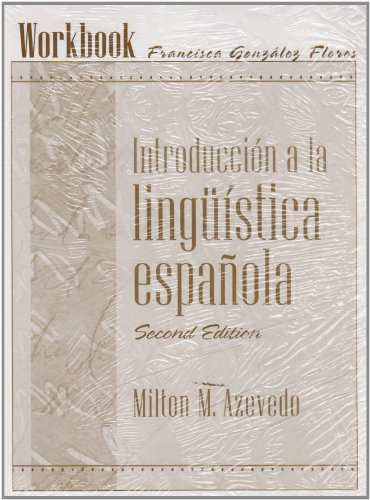 9780131109629: Introduccion a La Linguistica Espanola Workbook