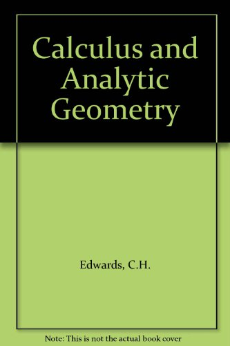 9780131110069: Calculus and Analytic Geometry
