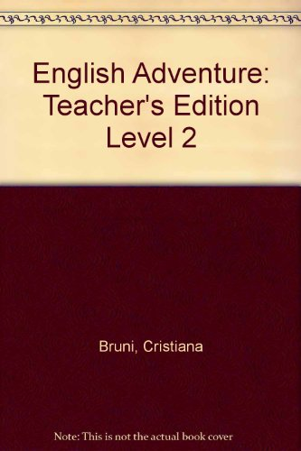 9780131110342: English Adventure: Teacher's Edition Level 2
