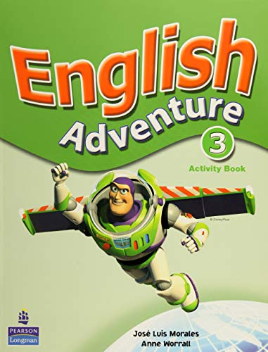 English Adventure 3 Activity Book (Bk. 3): Morales, Jose Luis