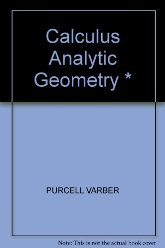 9780131111059: Calculus Analytic Geometry *