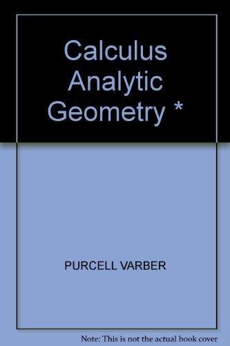 9780131111059: Calculus Analytic Geometry *