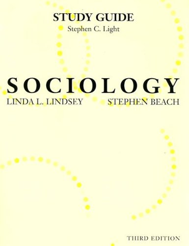 9780131111868: Study Guide for Sociology