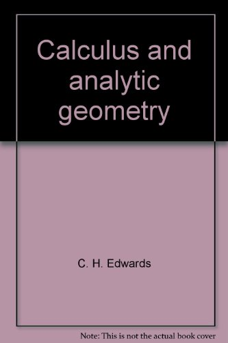 9780131112537: Calculus and analytic geometry