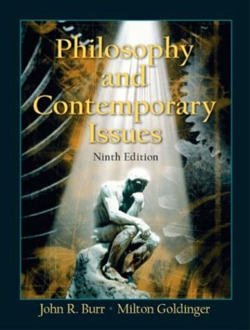9780131112568: Philosophy and Contemporary Issues