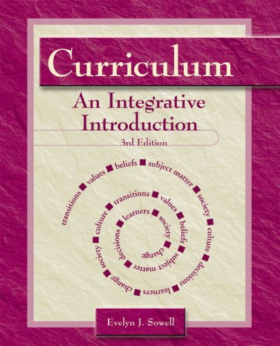 9780131112919: Curriculum: An Integrative Introduction (3rd Edition)