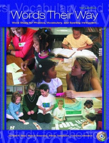 9780131113381: Words Their Way: Word Study for Phonics, Vocabulary, and Spelling Instruction