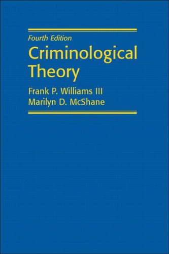 9780131113879: Criminological Theory (4th Edition)