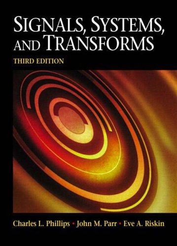 9780131115002: Signals, Systems and Transforms