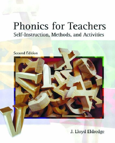 9780131115248: Phonics for Teachers: Self-instruction Methods and Activities