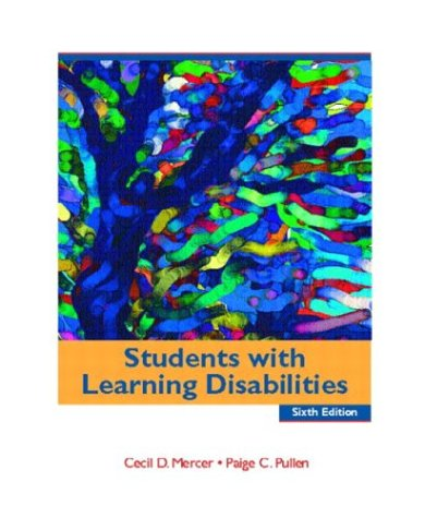 9780131115392: Students with Learning Disabilities (6th Edition)