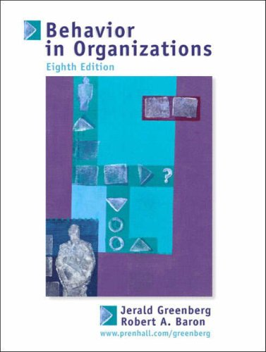 9780131115927: Behavior in Organizations: Understanding and Managing the Human Side of Work (International Edition)