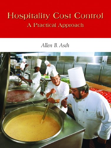 9780131116009: Hospitality Cost Control: A Practical Approach