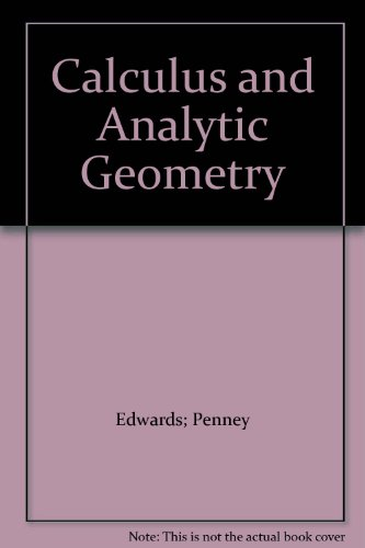 9780131116177: Title: Calculus and Analytic Geometry