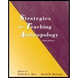 9780131116504: Strategies in Teaching Anthropology