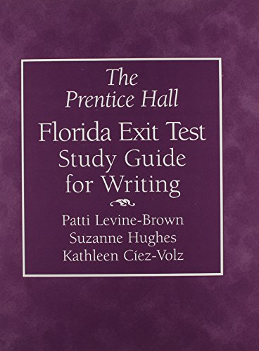 9780131116528: The Prentice Hall Florida Exit Test Study Guide for Writing