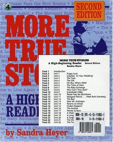 9780131116931: More True Stories: A High-Beginning Reader