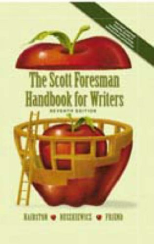 9780131117167: The Scott Foresman Handbook for Writers, 7th Edition