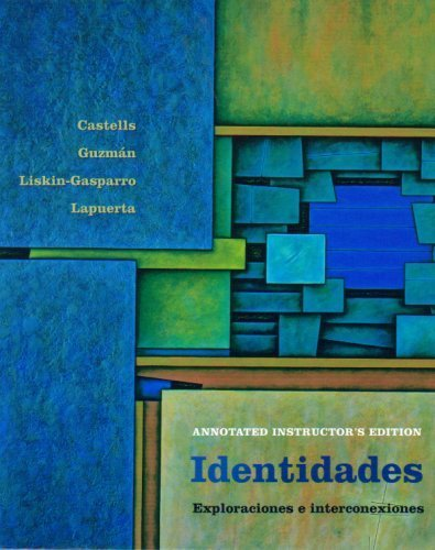 9780131117877: Identidades: Exploraciones e Interconexiones (Annotated Instructor's Edition)