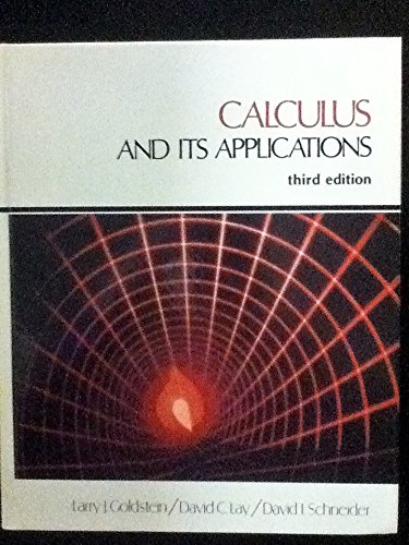 9780131118805: Calculus and its applications