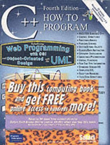 9780131118812: C++: How to Program