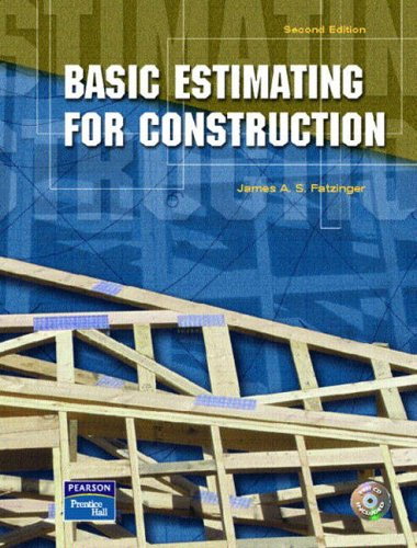 9780131119130: Basic Estimating for Construction