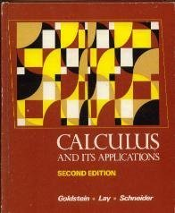 9780131119635: Calculus and Its Applications