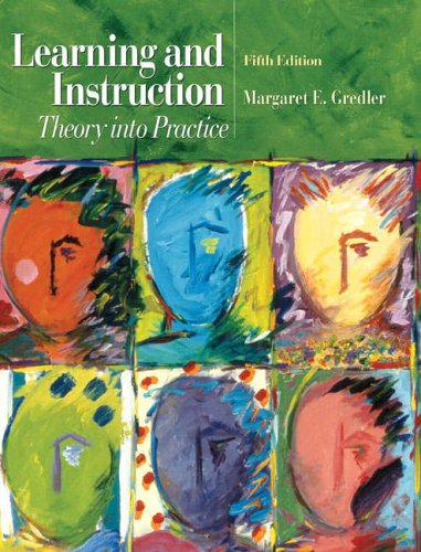 9780131119802: Learning and Instruction: Theory into Practice