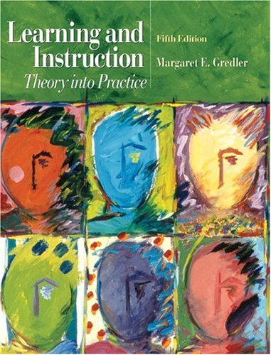9780131119802: Learning and Instruction: Theory into Practice (5th Edition)