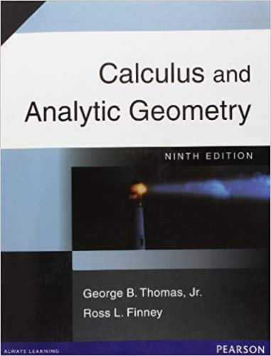 9780131120600: Calculus with analytic geometry