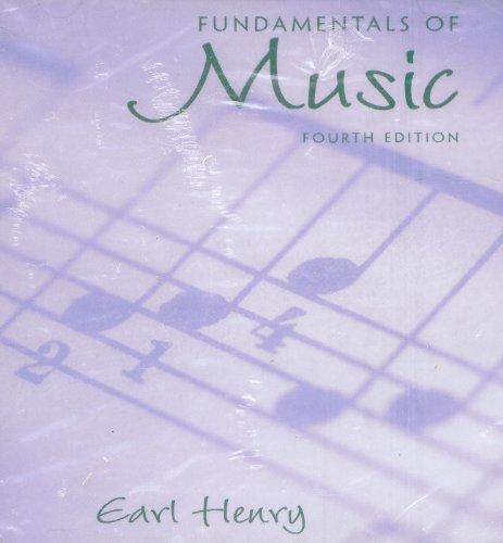 9780131120945: Fundamentals of Music